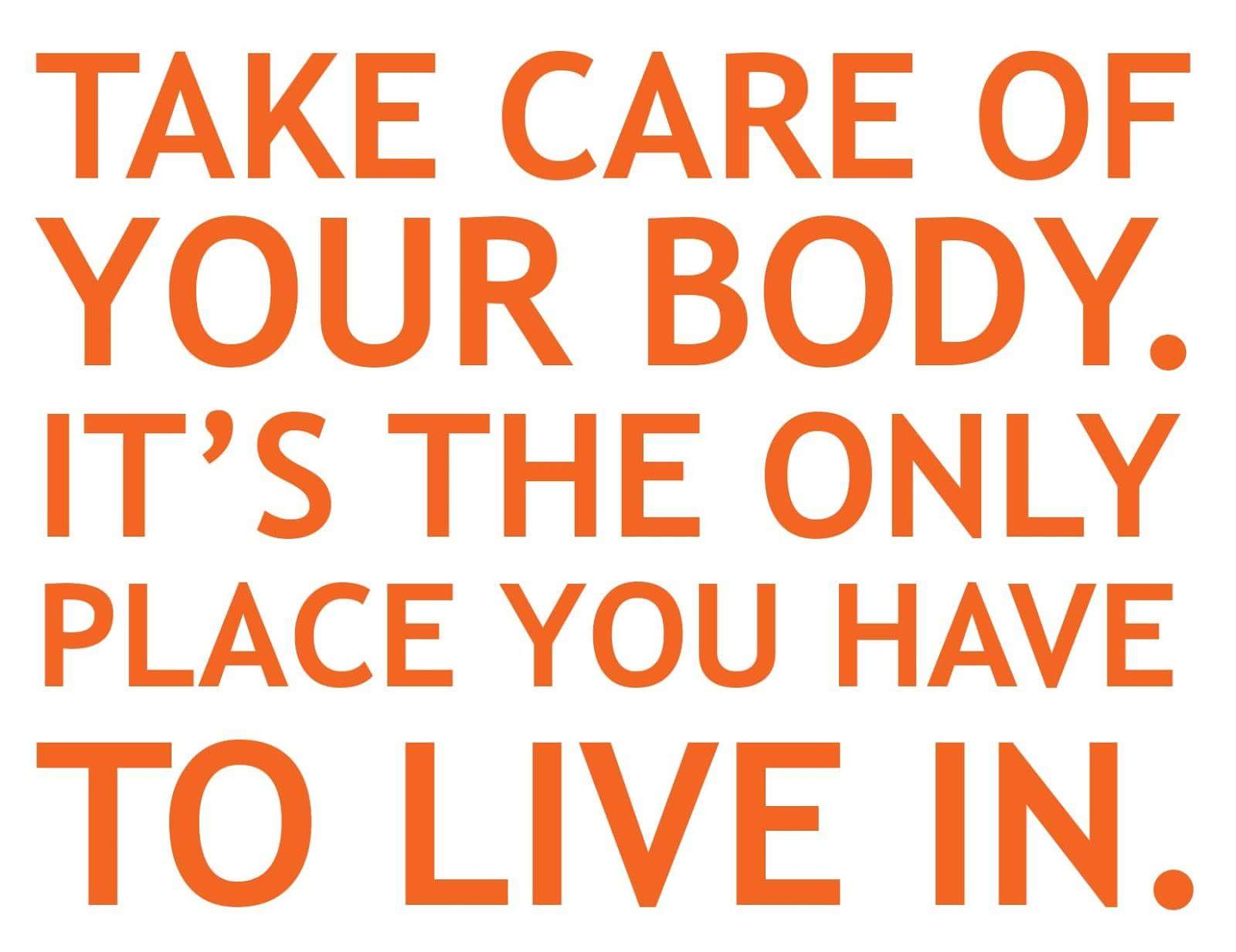 Live in your body