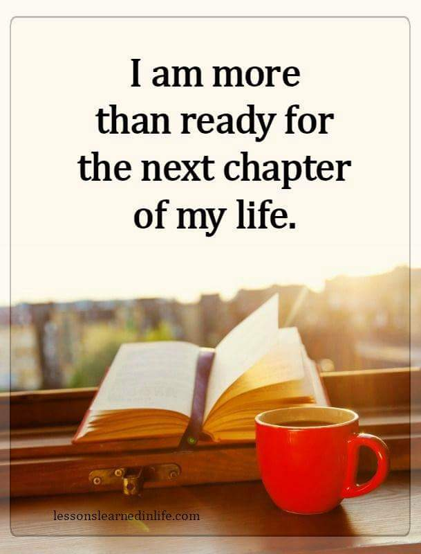 The Next Chapter >> Are You Ready For The Next Chapter Of Your Life Archibald J